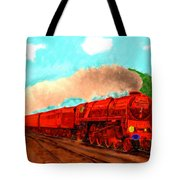 Red Ball Express Tote Bag