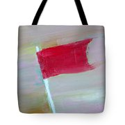Red Banner Tote Bag