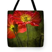 Red Beauties In The Field Tote Bag