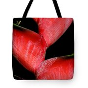 Red Beauty - Heliconia Tote Bag