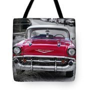 Red Belair At The Beach Standard 11x14 Tote Bag
