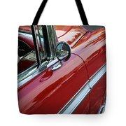 Red Belair Tote Bag