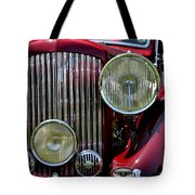 Red Bentley Grill Tote Bag