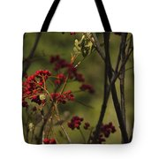 Red Berries Tote Bag