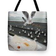 Red-billed Seagulls Tote Bag
