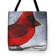 Red Bird Tote Bag