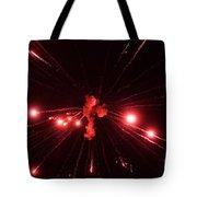 Red Blast And Smoke Tote Bag