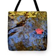 Red Blue And Gold Tote Bag