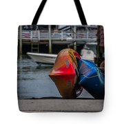 Red Blue And Yellow Tote Bag