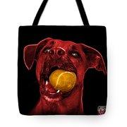 Red Boxer Mix Dog Art - 8173 - Bb Tote Bag
