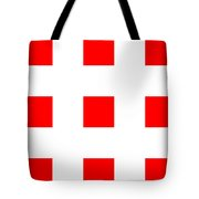 Red Boxes Tote Bag