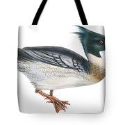 Red-breasted Merganser Tote Bag