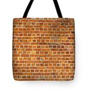 Red Brick Wall Texture Tote Bag