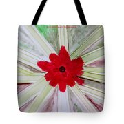 Red Brilliance Tote Bag by Sonali Gangane