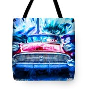 Red Buick  Tote Bag