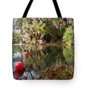 Red Buoys Tote Bag