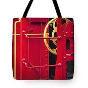 Red Caboose Tote Bag