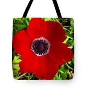 Red Calanit Tote Bag