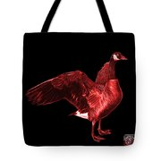Red Canada Goose Pop Art - 7585 - Bb  Tote Bag