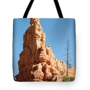 Red Canyon Rock Formation Tote Bag
