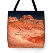 Red Canyon Swirls Tote Bag