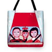 Red Car Tote Bag