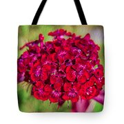 Red Carnations Tote Bag by Omaste Witkowski