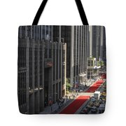 Red Carpet On 6th Ave Tote Bag