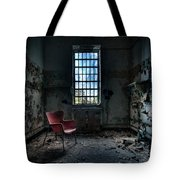 Red Chair - Art Deco Decay - Gary Heller Tote Bag