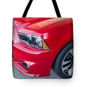 Red Charger 1508 Tote Bag