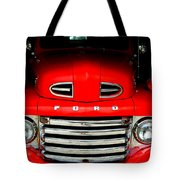Red Cheeks Ford Tote Bag