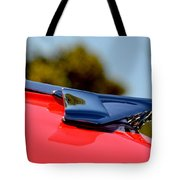 Red Chevy Hood Tote Bag