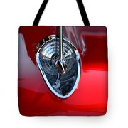 Red Chevy Hood Ornement Tote Bag