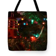 Red Christmas Bell Tote Bag