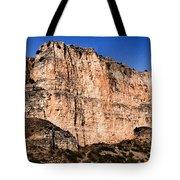 Red Cliffs Blue Sky Tote Bag