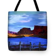 Red Cliffs On The Colorado Tote Bag
