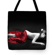 Red Cloth Nude 1 Tote Bag