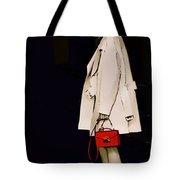 Red Clutch Tote Bag