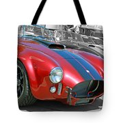 Red Cobra Tote Bag