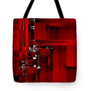 Red Construction I Tote Bag