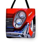 Red Hot Continental Palm Springs Tote Bag