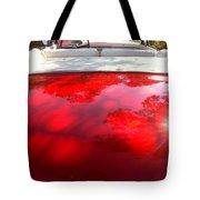 Red Convertible Tote Bag
