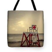 Red Cross Lifeguard Tote Bag