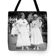 Red Cross Parade, 1918 Tote Bag