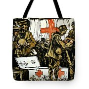 Red Cross Poster, 1915 Tote Bag