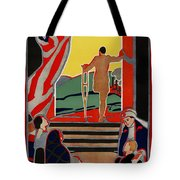 Red Cross Poster, 1919 Tote Bag by Granger