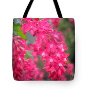 Red-flowering Currant Blossom Tote Bag