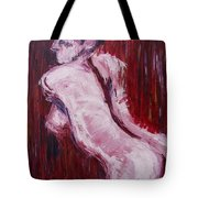 Red Curtains - Nudes Gallery Tote Bag