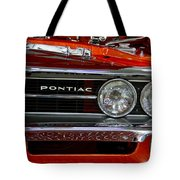 Red Customized Retro Pontiac-front Left Tote Bag