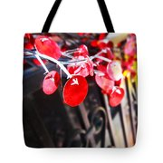 Red Decorations Tote Bag